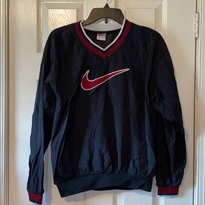 VTG 90's Nike Big Swoosh Center Pocket pullover